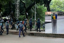 A Bangladeshi Student Turned Police's Tear Gas Shell Into a Pen Stand