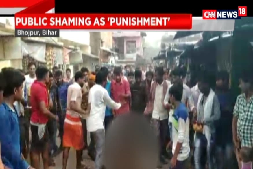 Woman first beaten up, paraded naked on suspicion of