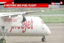 A Historic Bio-Fuel Flight From Dehradun to Delhi