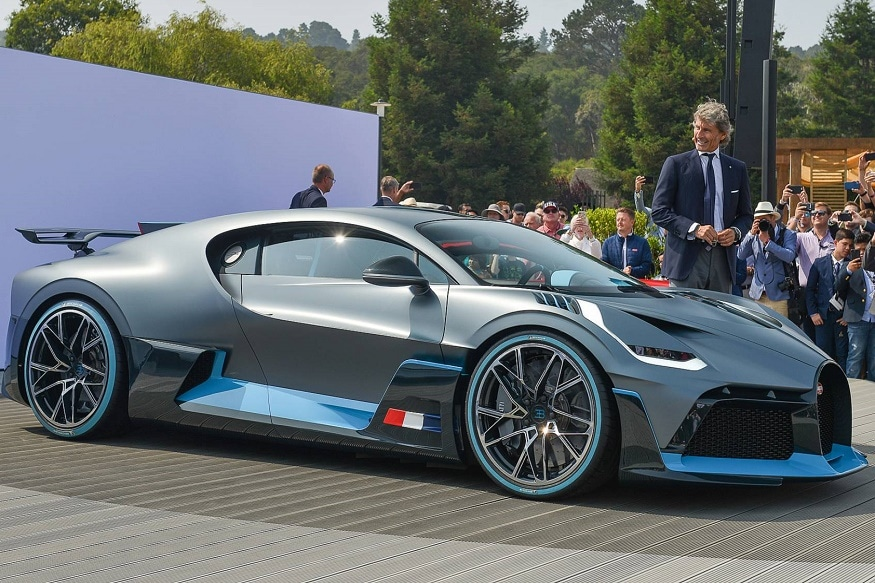 Bugatti Divo Hypercar Worth Rs 40 Crore Unveiled All 40 Units Already Sold Video News18