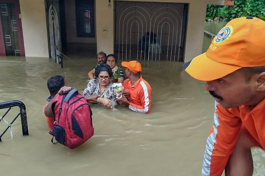 Flood-affected Kerala