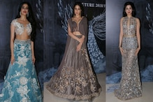 Janhvi Kapoor, Sara Ali Khan and Khushi Kapoor Up the Style Quotient at Manish Malhotra Show; See Pics