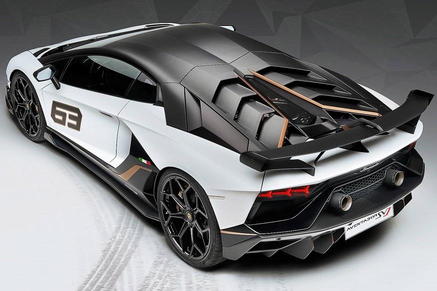 Lamborghini Aventador SVJ features most powerful series production engine. (Image: Lamborghini)