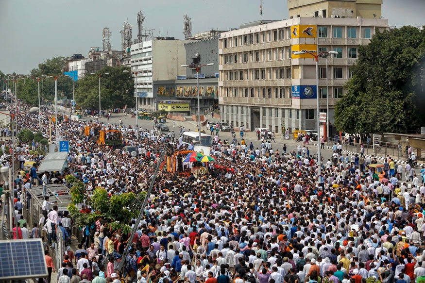 Vajpayee's funeral procession
