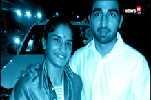 Watch: Asiad Gold Medal Winner Vinesh Phogat Gets Engaged at Airport