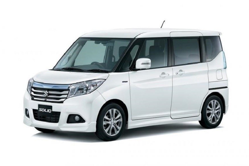 The 7-seater Wagon R will be based on Suzuki Solio. (Image: Suzuki)