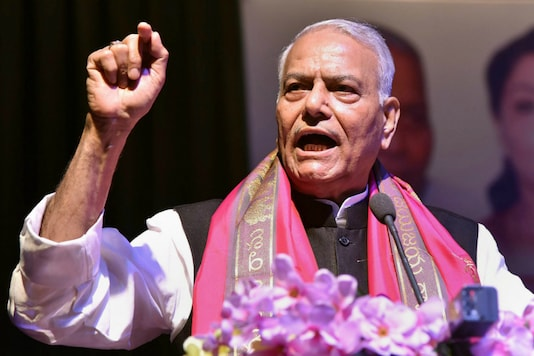 File photo of former Union minister Yashwant Sinha. (PTI)