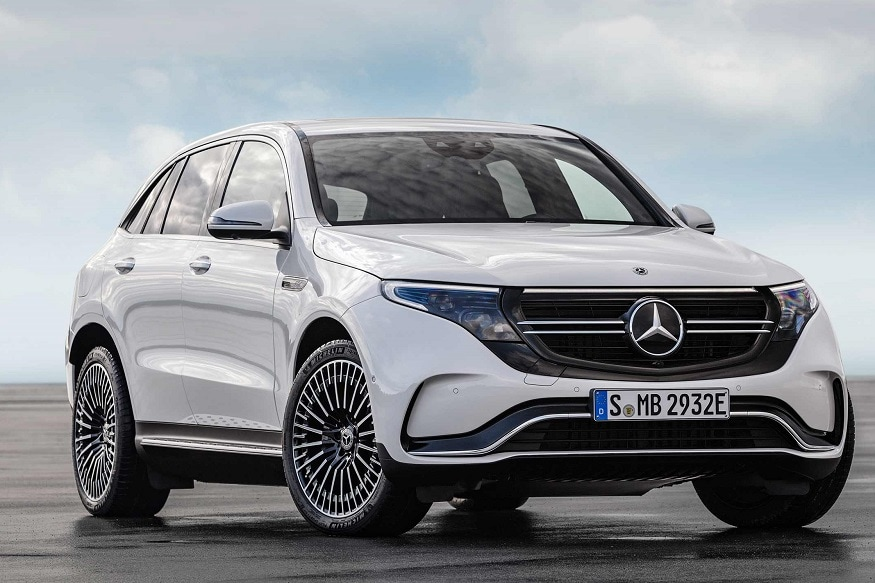 2020 mercedes benz eqc 400 4matic all electric suv revealed to have 320 km mileage news18. Black Bedroom Furniture Sets. Home Design Ideas