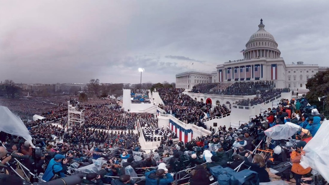 Photographer Admits he Edited Trump's Inauguration Photos to Make Crowd Look Bigger