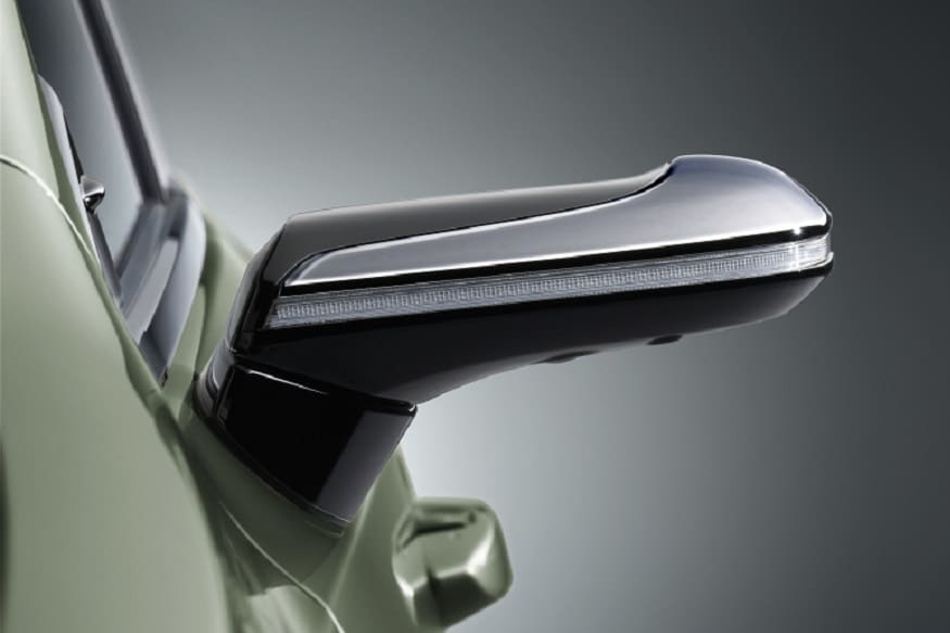 2019 Lexus ES wing mirror camera. (Image: AFP Relaxnews)