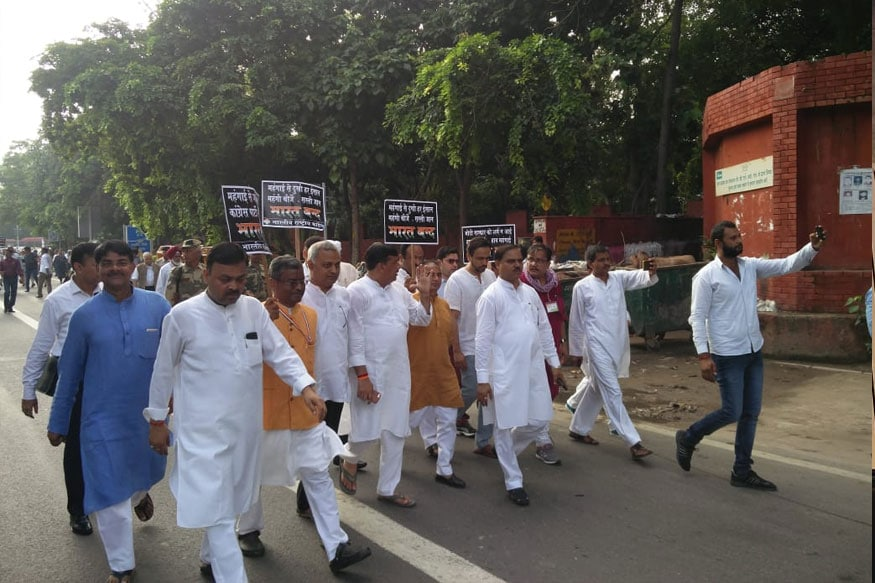 AAP says its participation in Bharat Bandh not support to Congress