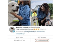 Anushka Sharma Tweets About Google Pixel From an iPhone