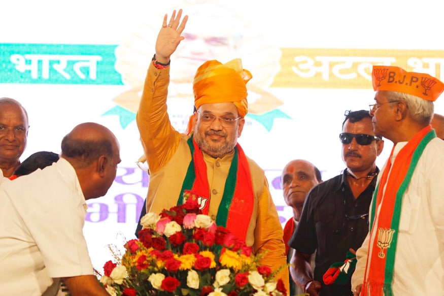 Think About Bharat Mata, Lotus When You Campaign, Amit Shah Tells BJP Workers in Rajasthan