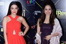 Bollywood Divas Glam Up News18 iReel Awards 2018