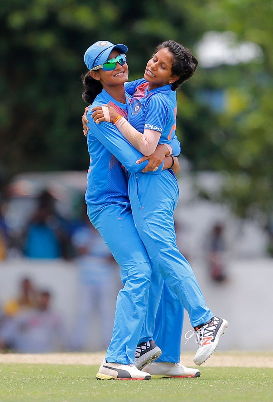 In Pics| India Vs Sri Lanka, T20 Women's Cricket Match