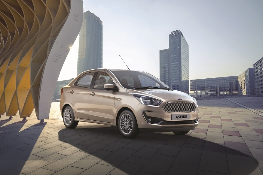2018 Ford Aspire Facelift to Launch in India Today, All You Need to Know