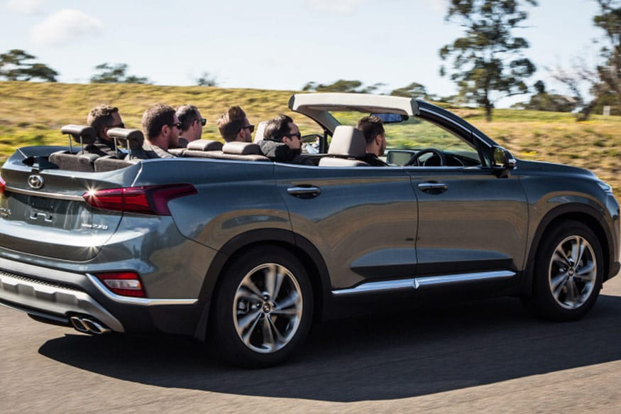 One-off-Hyundai-Santa-Fe-cabriolet-from-the-back