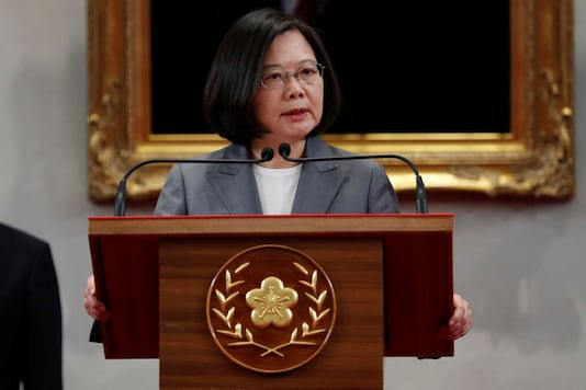 File photo of Taiwan's President Tsai Ing-wen.  (Reuters)