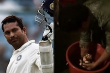 'God of Cricket' Sachin Goes Green This Ganesh Chaturthi With In-Home Idol Immersion