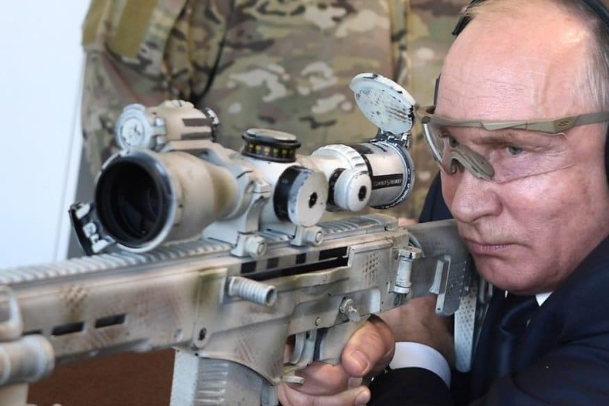 Vladimir Putin Shows Off Sniper Skills, Fires New