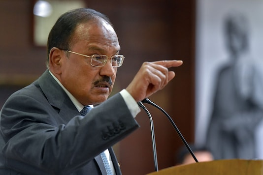 File photo of National Security Adviser (NSA) Ajit Doval. (PTI)