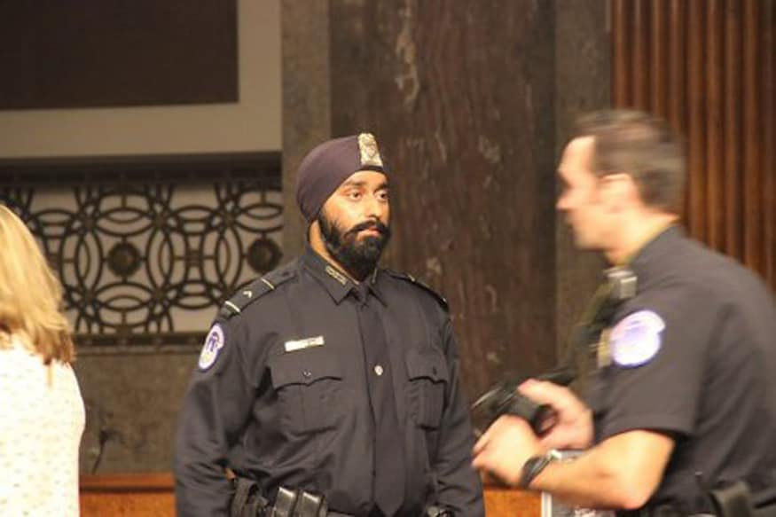 Anshdeep Singh Bhatia Becomes First Turbaned Sikh in US President Donald Trump's Security Team