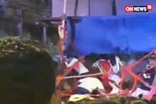 Stage Collapse During Dahi Handi Celebration in Pune
