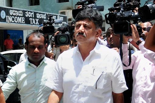 File photo of Karnataka Congress leader DK Shivakumar. (PTI)
