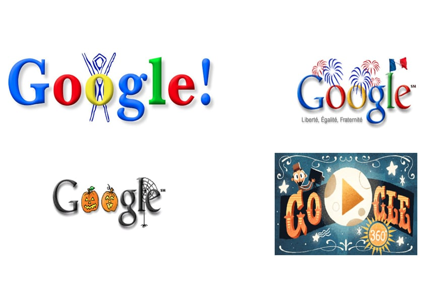 Google: 20 Years And Over 2,000 Doodles