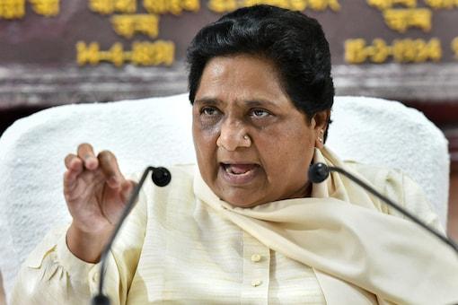 File photo of BSP supremo Mayawati.