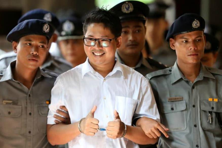 Myanmar Reuters Journalists Lose Appeal Against 7 Year Sentence