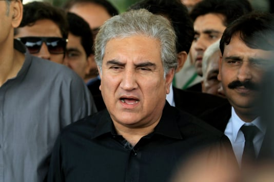 File photo of Pakistan Foreign Minister Shah Mehmood Qureshi.