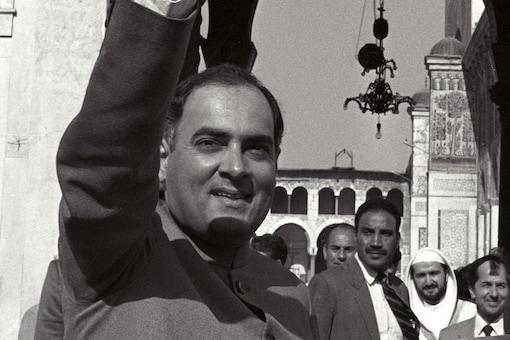 File photo of Rajiv Gandhi.