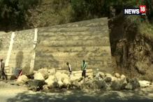 Border Roads Organisation is Constructing Boundary Walls in Srinagar's Avalanche Prone Areas