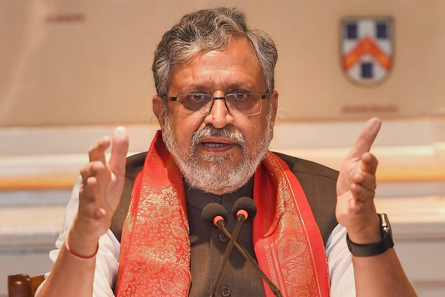 Sushil Modi Takes Dig at Sharad Yadav Over Benami Wealth
