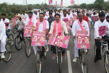 When a TRS Leader Ditched Party's Pink and Donned Rival's Yellow to File Nomination