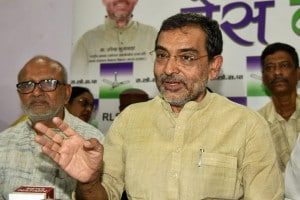 File photo of RLSP chief Upendra Kushwaha. (PTI File Photo)