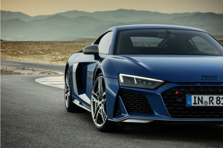 2019 audi r8 unveiled  updated model gets new looks and more