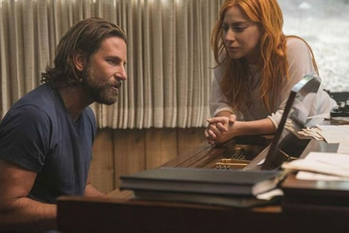 A still from A Star Is Born.