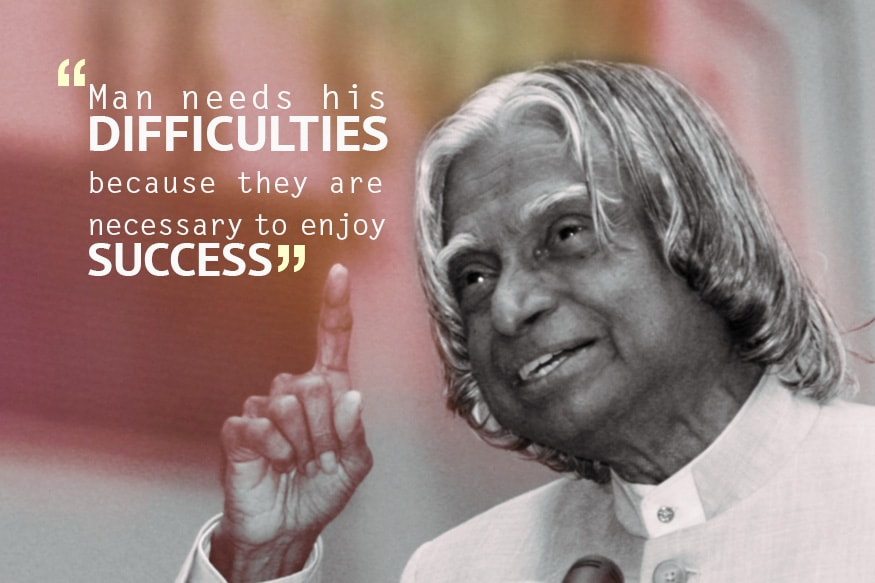 Apj Abdul Kalam Quotes That Will Inspire You To Succeed Photogallery