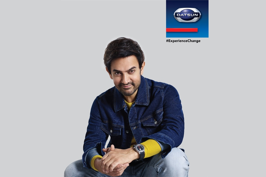 Datsun signs Aamir Khan as its brand ambassador in India. (Image: Datsun)
