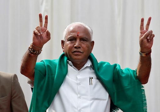 A file photo of BJP leader BS Yediyurappa. (Image: Reuters)