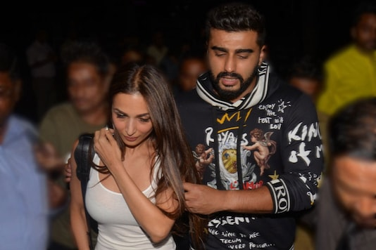 Arjun Kapoor and Malaika Arora.