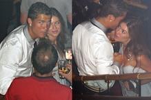 Photos of Cristiano Ronaldo Dancing With Rape Accuser