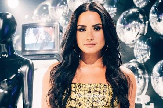 Facebook photo of singer Demi Lovato.