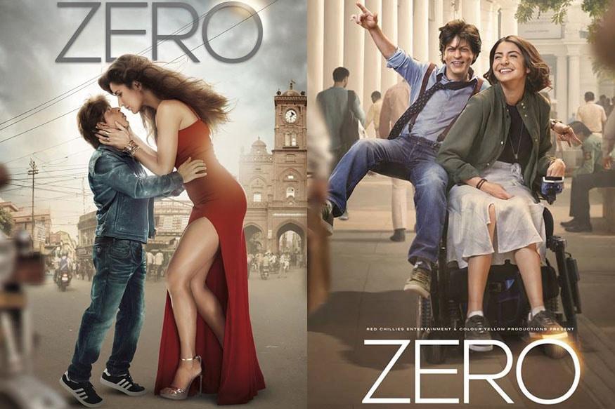 Zero Posters Shah Rukh Khan Anushka Sharma Katrina Kaif Promise A