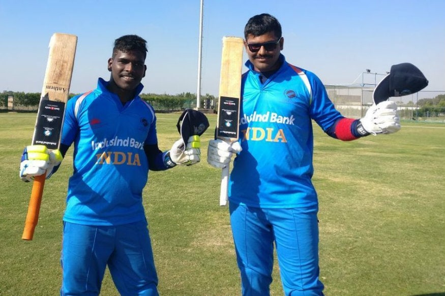 India Blind cricketers