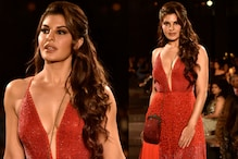 Red Hot! Jacquline Scorches the Ramp For Monica & Karishma