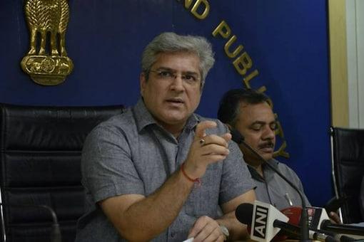 File photo of Delhi Minister  Kailash Gahlot.