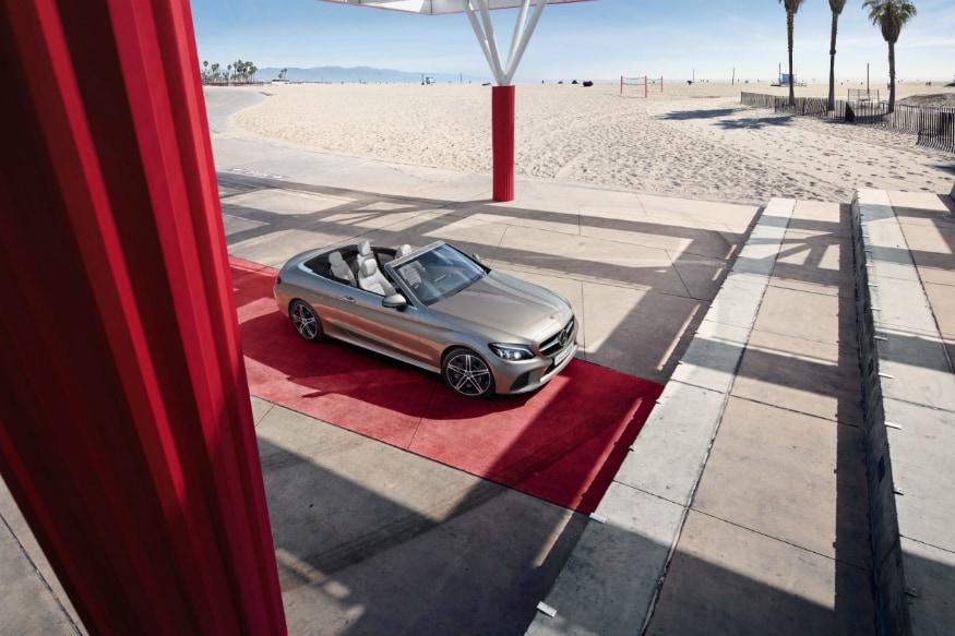 New Mercedes-Benz C-Class Cabriolet. (Image: Mercedes-Benz)